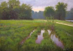 Kinston Offroad 18x24 plein air painting