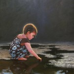 Children's portrait by North Carolin artist Jeremy Sams