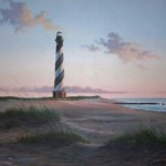 cape hatteras lighthouse print