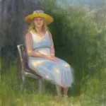 plein air portraits by North Carolina artist Jeremy Sams