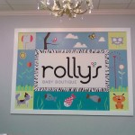 Rolly's children's store mural, Winston Salem, NC. A kids room mural by North Carolina artist, Jeremy Sams