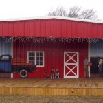Lenoir County Farmer's Market Mural, Kinston, NC painted by North Carolina artist, Jeremy Sams