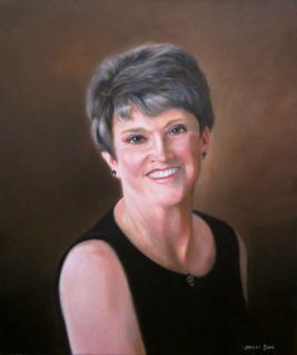 hand painted portrait by North Carolina artist Jeremy Sams
