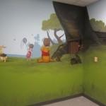 Pooh mural
