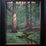 Psalm 97:11 original acrylic impressionist painting by North Carolina artist Jeremy Sams