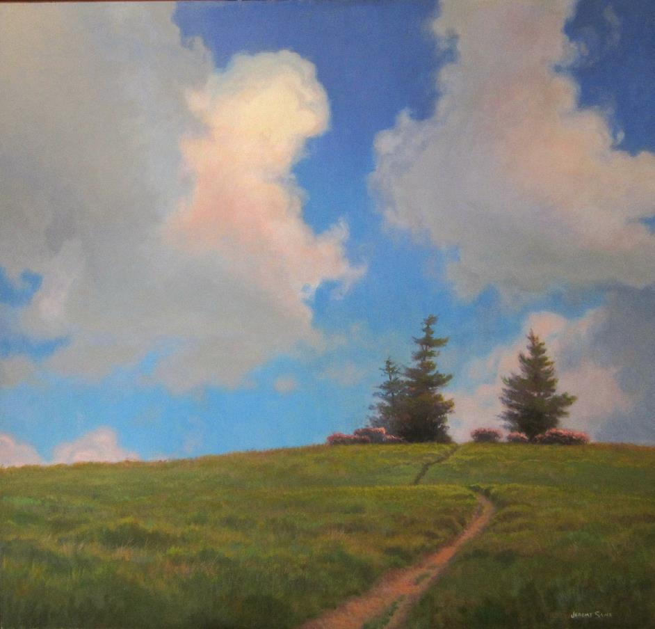 Roan Mountain Clouds Painting Jeremy Sams Art