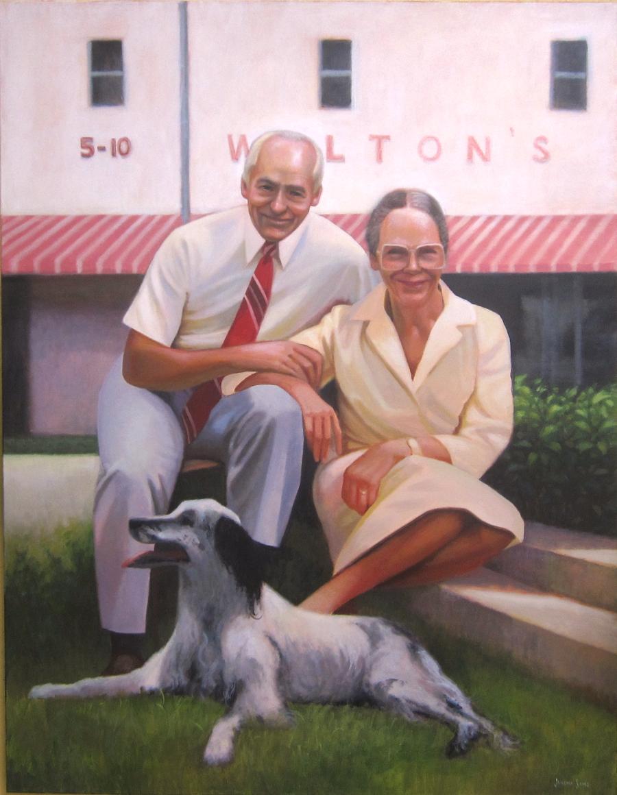 Sam and Helen Walton of Walmart