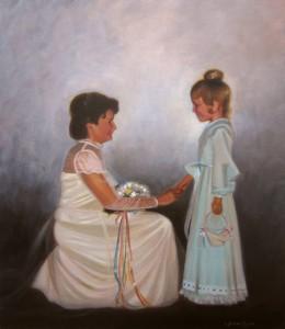 commissioned portrait painting