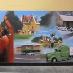 Kernersville Walmart Neighborhood Market Mural