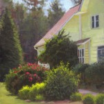 sunshine farm lavender garden plein air painting
