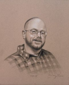 Jake (charcoal portrait)